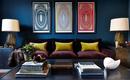 16 смелых декоративных  идей для гостиной