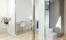 Белая мини-квартира: удобное и современное жилье