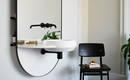 Не только для ванной: раковина с системой стеллажей и зеркалом