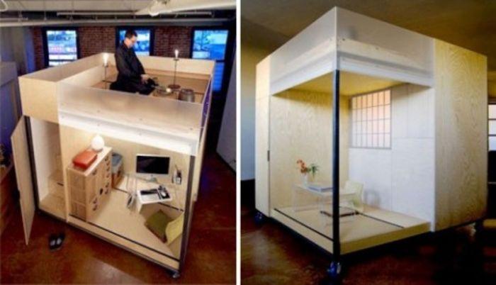 Дизайн  Liu Ming: Mobile Cube