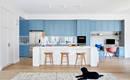 Уют и тишина: голубой цвет задал новую жизнь дома