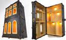 Мебель, превращенная в архитектурные модели