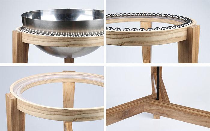 Ovini Balance Stool от Weronika Żytko. Дизайн-студия Yanko Design