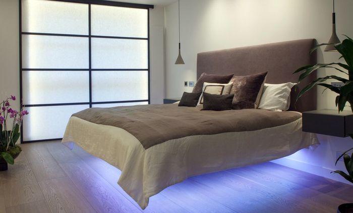 Плавающая кровать. Источник фото: http://www.cassidyhughes.com/