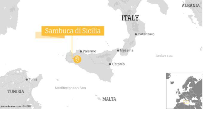 Город Самбука на Сицилии. Источник: https://edition.cnn.com/travel/article/one-dollar-home-sambuca-sicily-italy/index.html