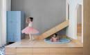 Занятная геометрия: дом с детскими игровыми элементами