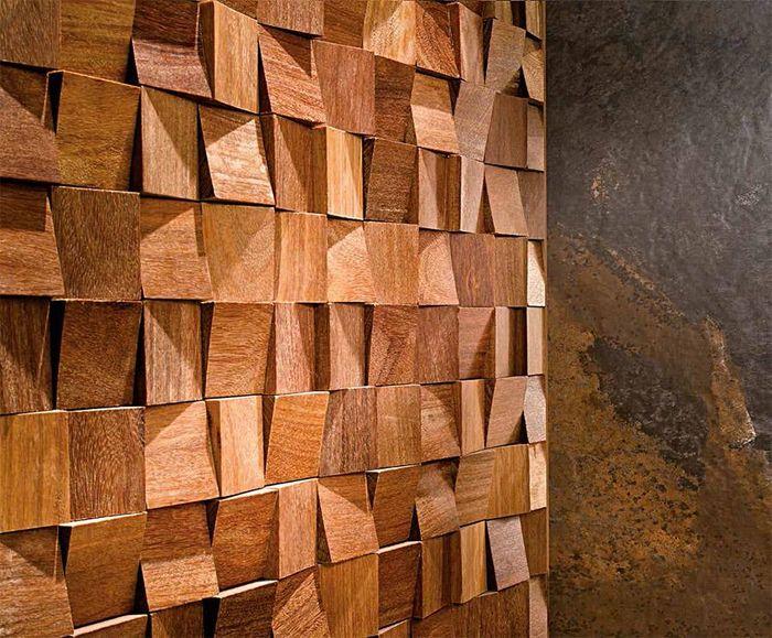 3D плитки из экзотического дерева Antic Colonial Wood Feel