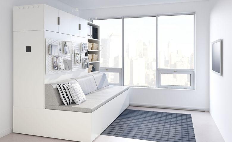 Büromöbel mit nicht standardisiertem Design