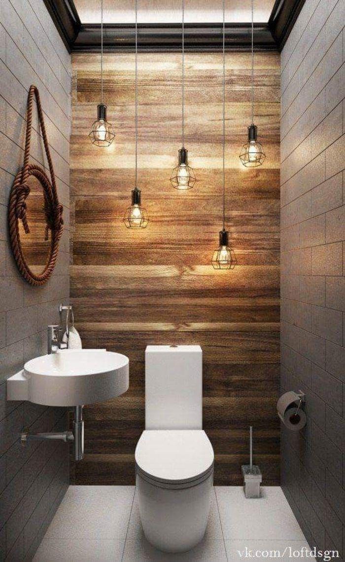Туалет в индустриальном стиле. Источник фото: https://www.pinterest.com/pin/850335973365813464/?lp=true