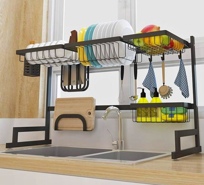Источник фото: odditymall.com/over-the-sink-drying-rack
