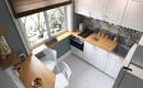 Как обустроить кухню 5- 6 кв. М в хрущевке?