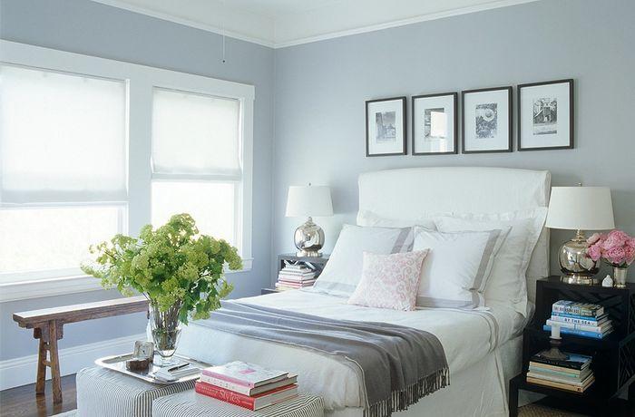 Картины над кроватью. Фото: Simon Upton