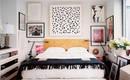 5 наиболее удачных способов оформления стены за кроватью