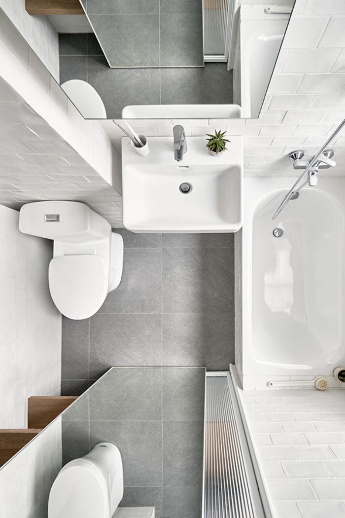 Микроквартира 17,6 кв. М. Дизайн: Little Design. Фото: Hey! Cheese