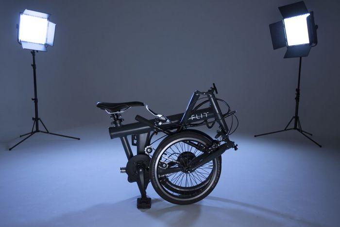 FLIT-16: складной электрический велосипед