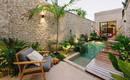 Невероятно красивый дом на Юкатане в очень узком пространстве