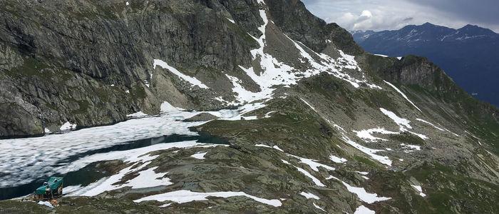 Горный пейзаж в Альпах. Источник фото: www.on-running.com/