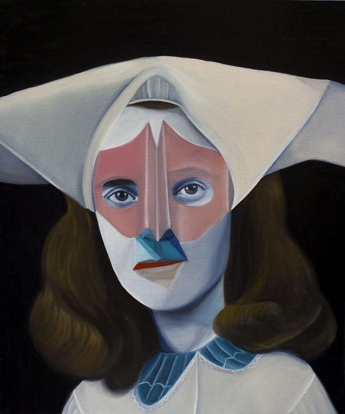Миланская художница Сильвия Идили (Silvia Idili)