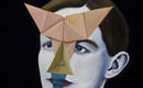 Геометрические портреты-оригами между ренессансом и метафизикой