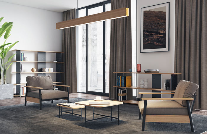 Стильная мебель в стиле лофт от Cube44