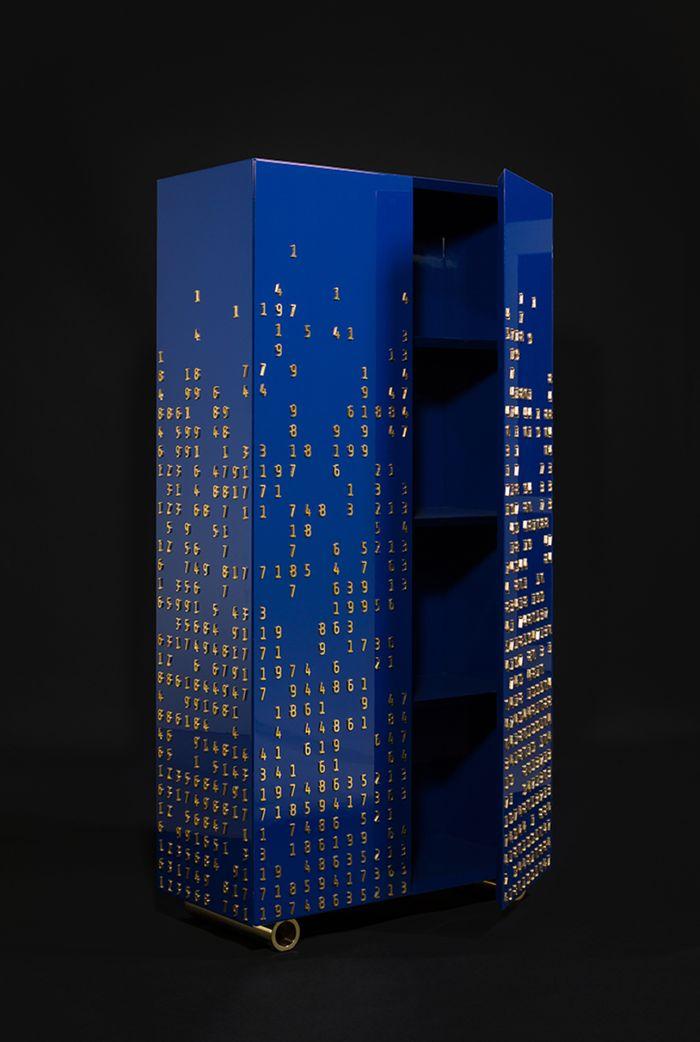 Коллекция мебели Numbers Game. Дизайнер: Юрий Зименко