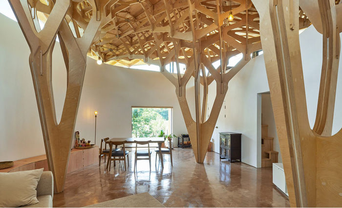 The House of Three Trees. Дизайн и фото: студия JK-AR