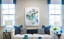 Фокусная точка в гостиной: 4 главных правила и много примеров