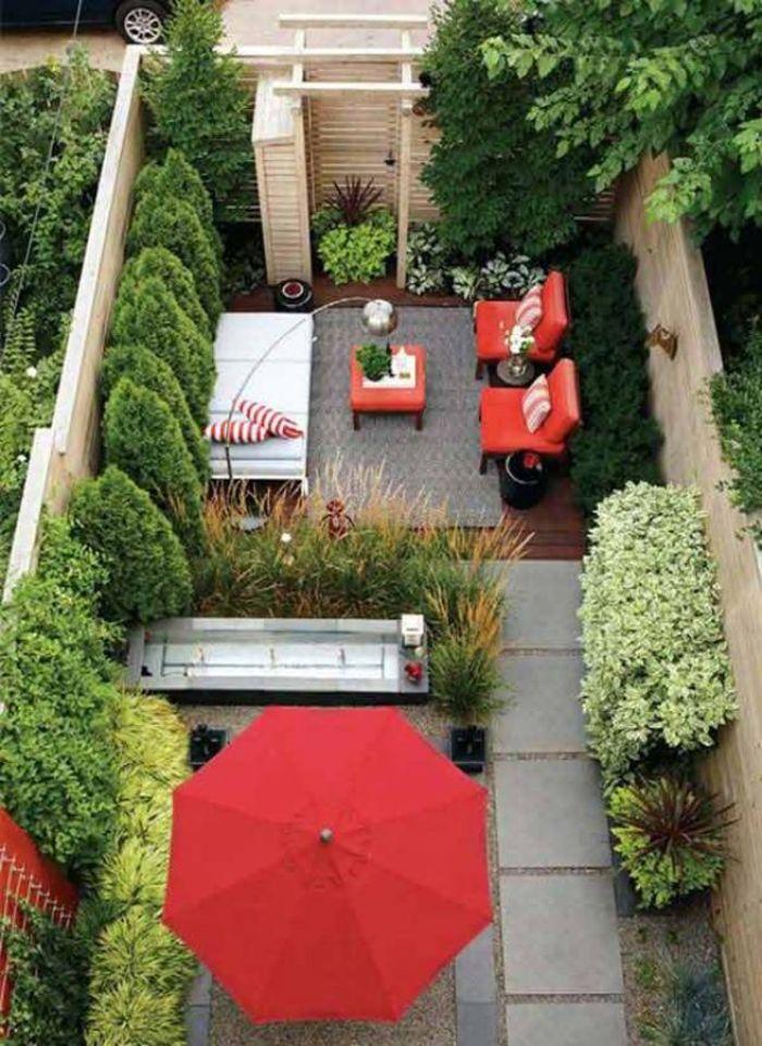 Садовый дворик. Источник фото: www.pinterest.com/pin/445997169318788414/?lp=true