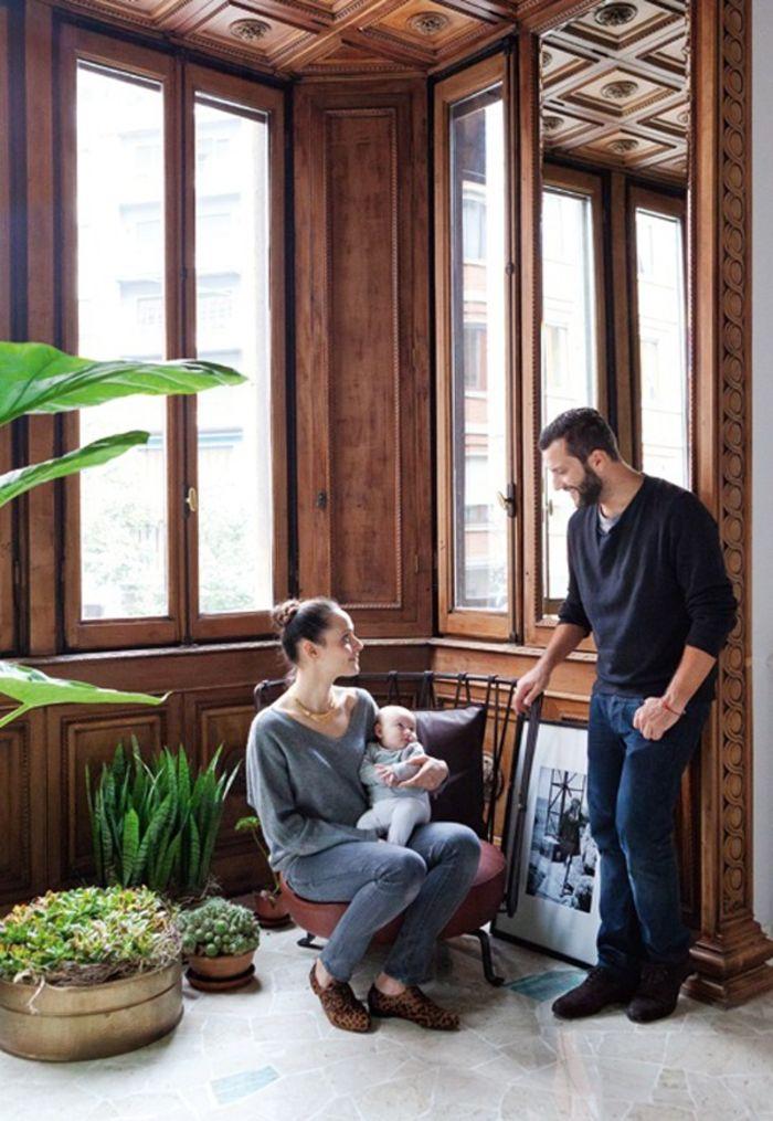Квартира фотографа. Дизайнер Пьетро Руссо (Pietro Russo)