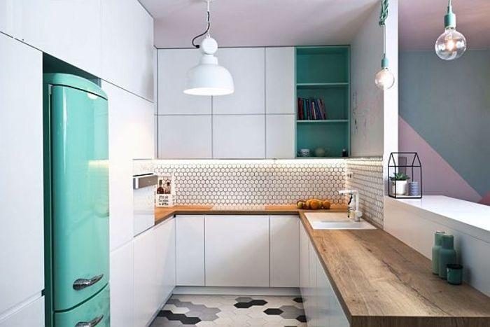 Кухня в стиле буквы «U». Фото: BRW