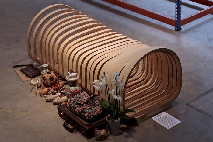 Кресло-гроб. Дизайн и фото: Еян Ляо (Yeyang Liao)
