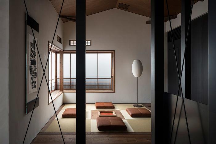 Японский бутик-отель. Авторы: Trunk Atelier и Tripster. Фото: Tomooki Kengaku