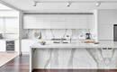 Преимущества и недостатки белой мебели для кухни