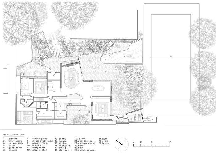 Архитектор проекта: Luigi Rosselli. Фото: Prue Ruscoe