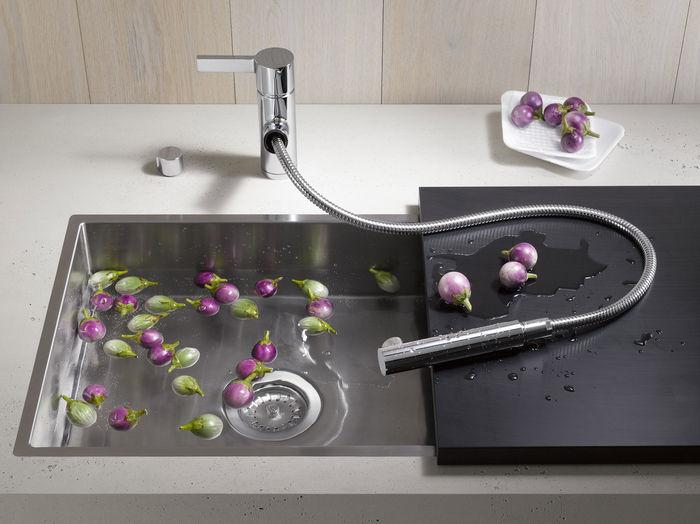 Модель Eno mixer от фабрики Dornbracht, дизайн Sieger Design. Фото: www.dornbracht.com