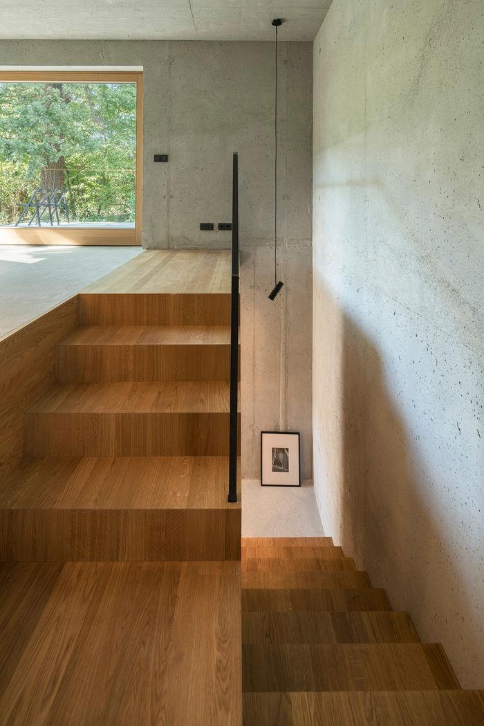 Черный дом от студии Buero Wagner.  Фото: Florian Holzherr
