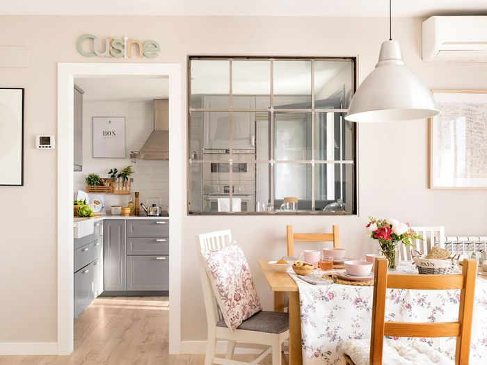Столовая возле кухни. Фото: https://www.elmueble.com