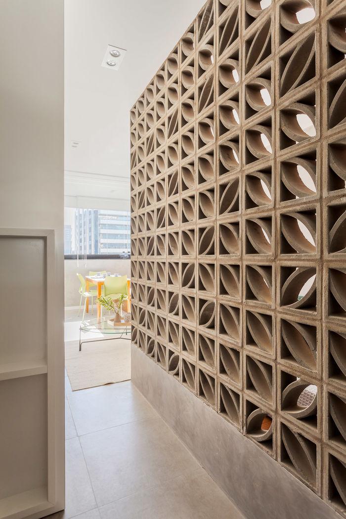 Компактная студия от Tria Arquitetura. Фото: Alessandro Guimarães.