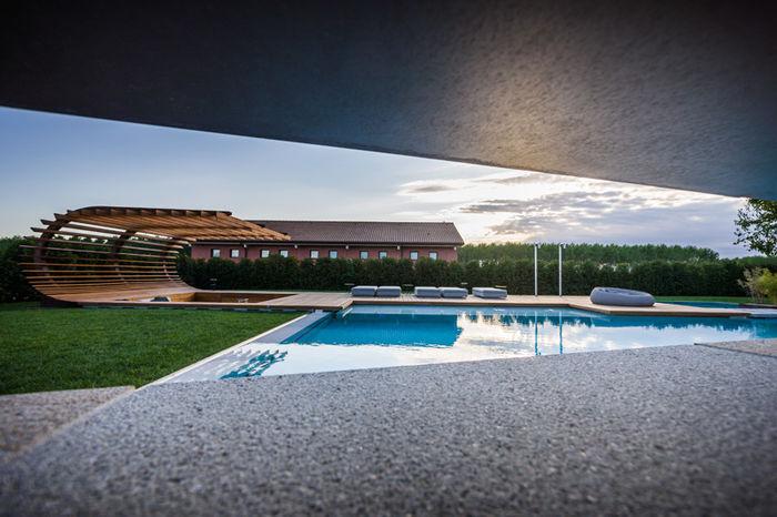 Терраса Le Monde Garden. Дизайн и фото: Алесандро Изола