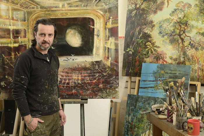 Французский художник Эрик Ру-Фонтен (Eric Roux-Fontaine)