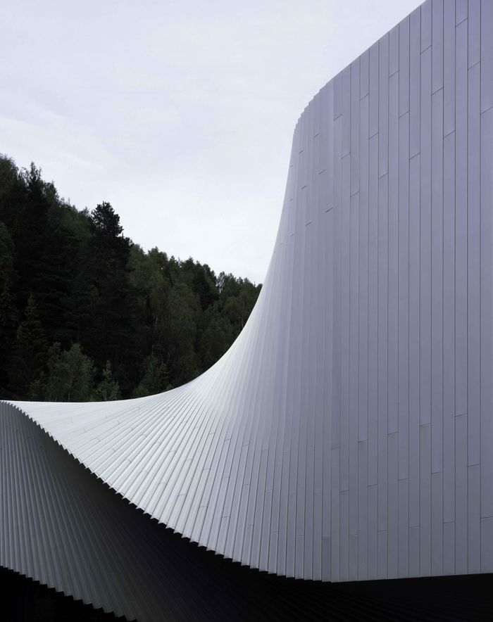 Дизайн: Bjarke Ingels Group. Фото: Kistefos Museum