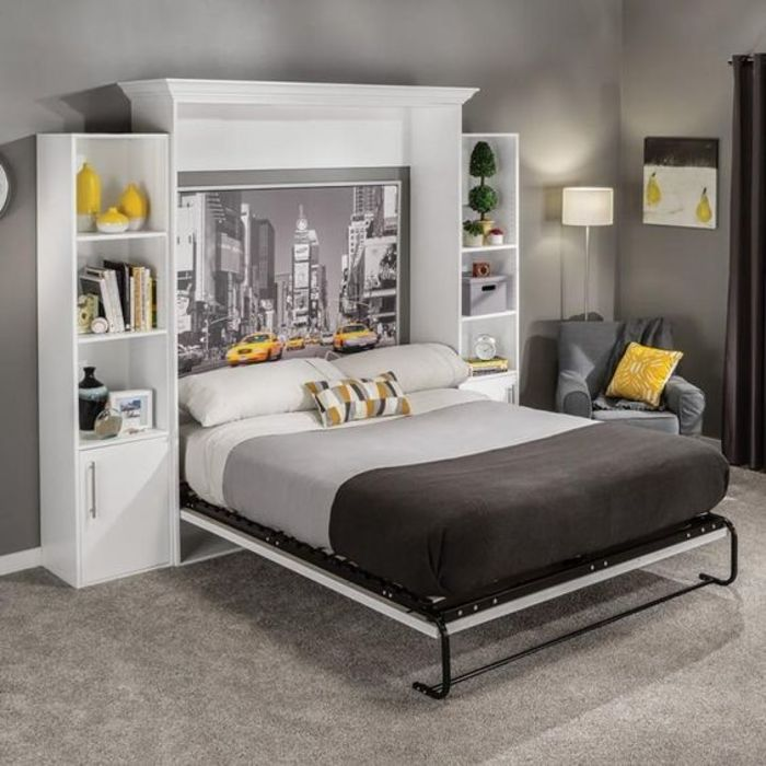 Кровать Мерфи. Источник: Pinterest