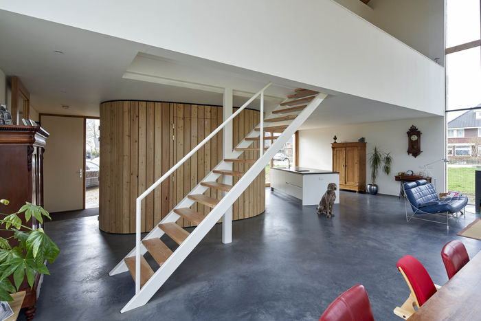 Дом в амбаре. Архитектура: RV Architecture. Фото: © René de Wit