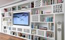 Как лучше устроить телевизор на стене? Хороший пример