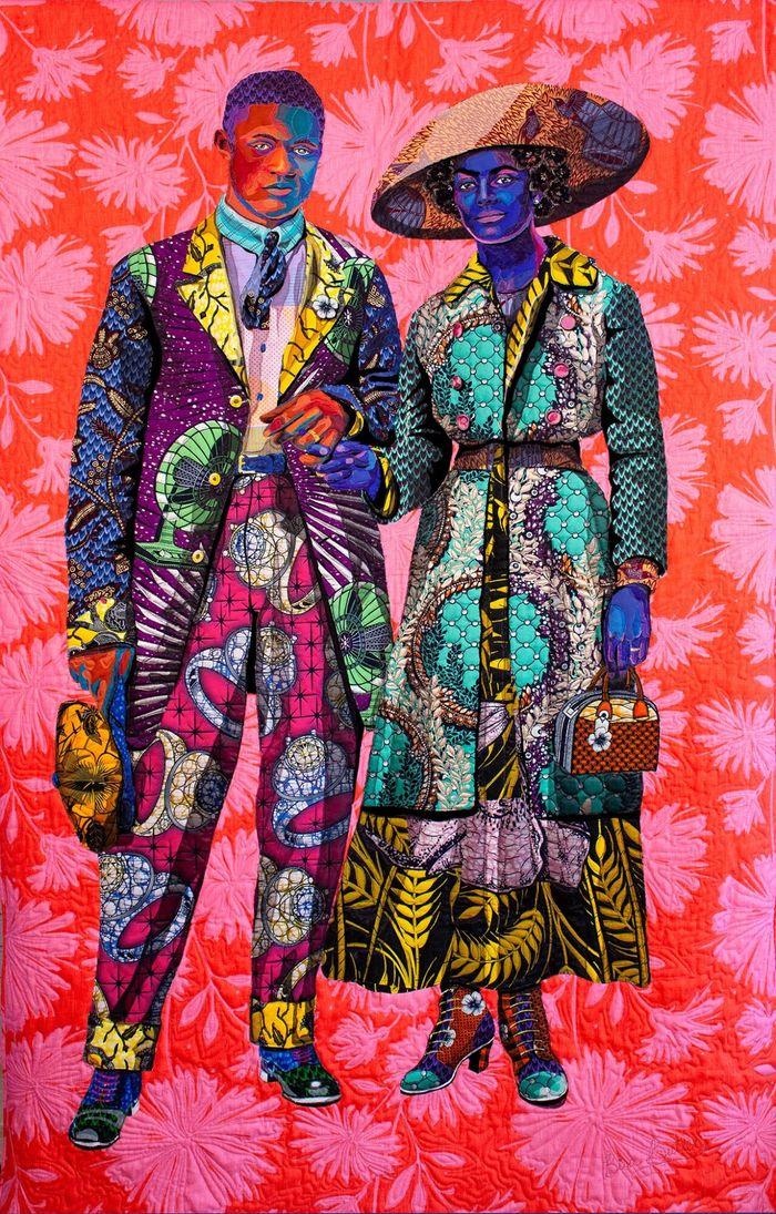 Картины из серии Broom Jumpers. Фото: Ian Rubinstein. Источник: Claire Oliver Gallery