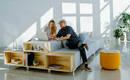 Два в одном: модульный диван с удобным хранением