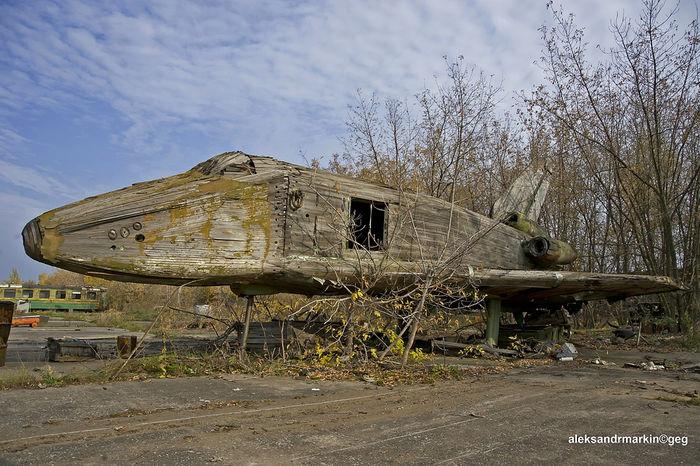 Космический корабль «Буран». Авиационный фотограф Александр Маркин
