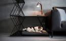Три в одном: кровать для собаки, тумбочка и перегородка