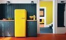 Ретро холодильник в интерьере современной кухни: выгоды размещения