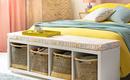Найти место для хранения в спальне: 11 хороших мини-идей